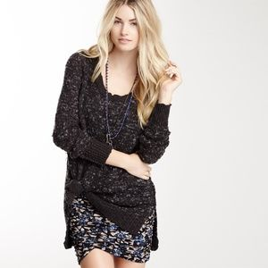 Free People Honeycomb Jeepster Pullover Sweater